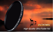 ZOMEi® Slim 77mm Variable ND Filter ND2 to ND400 Neutral Density- UK Ready Stock