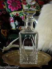 Ultra Rare Vintage Gucci Crystal Wine Decanter Carafe Pitcher Glass Barware Gg