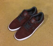 DC Crisis Size 12 Mens Burgundy BMX Skate Shoes Sneakers