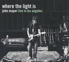 JOHN MAYER CD - WHERE THE LIGHT IS: LIVE IN LOS ANGELES [2 DISCS](2008) - NEW