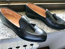 NEW💥Crockett & Jones Cavendish💥Calf Tassel loafer black Shoes 10.5 UK E