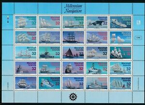 MARSHALL ISLANDS **MNH ISSUES (1994-6) AS SHOWN** INCL SHEET OF 25 #605; CV $43