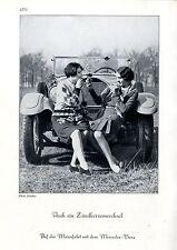 Mercedes-Benz ( Motive ) Auch ein Zündkerzenwechsel Phot.Binder c.1930