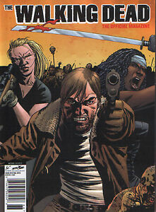 The Walking Dead Official Magazine #18 Brian Vaughan Jeff Morgen Dean Cover B