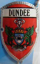 Scotland Dundee new badge mount stocknagel hiking medallion G9779