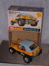 TAIYO VINTAGE, FULLY WORKING, BATTERY PWRD. SAND BUGGY W/ORIGINAL BOX IN YELLOW.