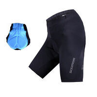 SOBIKE Mens 3D Padded Cycling Shorts Bicycle Bike Short Pants Triathlon Shorts