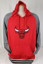 Brand New Men's NBA Fanatics Chicago Bulls Pullover Hooded Sweater