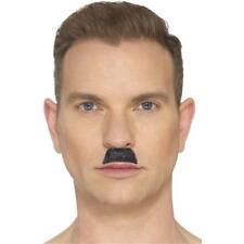 Charlie Chaplin Hitler style stick on false mens Black film character moustache