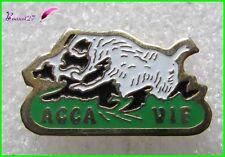 Pin's Animal Un Sanglier Chasse ACCA VIF  #799