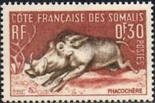 (Ref-12818) French Somali Coast 1958 30c Warthog SG.432  Mint (MNH)