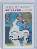 BRAILYN MARQUEZ CHICAGO CUBS #1 ROOKIE 100 MPH FASTBALL TOPPS HERITAGE #'D 40/50