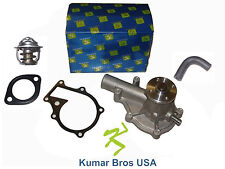 New Kubota V1505 Water Pump with Return Hose & Thermostat
