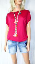 Cora Kemperman Designer T- Shirt  Gr XL  Tencel Pink
