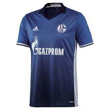 adidas Schalke 04 Home Heimtrikot 2016/2017 blau/weiß [AI7222 AI7227]