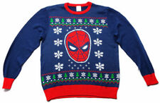 Spiderman Marvel Ugly Christmas Sweater Ugly Xmas Sweater Unisex 100% Authentic