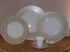 PHILIPPE DESHOULIERES *NEW* GALILEUM SABLE 7307 Set 3 Assiettes + 1 Tasse Plates