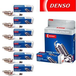 6 Pack Denso Double Platinum Spark Plugs for 2006 PONTIAC MONTANA V6-3.5L