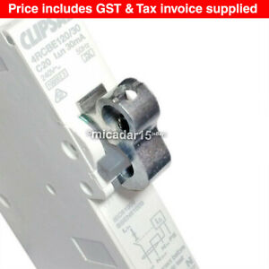 100 Pcs x Circuit Breaker Lock Dogs - MCB Lock Out Lockout - Inc GST & Tax Inv