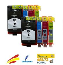 PACK 8 CARTUCHOS DE TINTA NON OEM HP 934 HP 935 XL CON CHIP V5