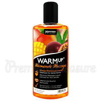 JoyDivision WARMup Mango & Maracuya flavor Massage oil Liquid Warming lube 150ml