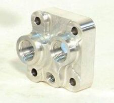 Shelby Engine Co Block Mounted Remote Oil Adaptor for FE Engines