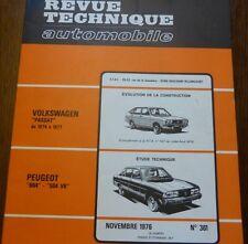 NEUVE DE STOCK !!!! Revue technique PEUGEOT 604 504 V6 RTA 361 1976 VW PASSAT