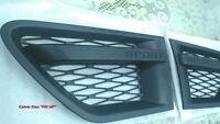 MATT BLACK SIDE FENDER VENT GRILLE RANGE ROVER SPORT L320 SPORT MODEL 2010-2013