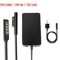 For Microsoft Surface 2 3, Pro 1 2 3 4 5 6, Surface RT Laptop Charger AC Adapter