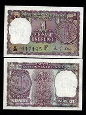 "RE 1/- India Banknote Issue 1973 Signed By M.G KAUL ""F"" GEM UNC ISSUE"