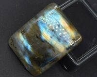 C-2226 Labradorite Natural Gemstone Rectangle Cushion Cabochon 56Ct 8x23x30mm