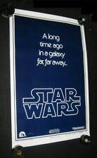 Original STAR WARS Style B Advance 1 Sheet Union Strike Version PRINTER FLAWED