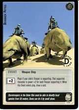 STAR WARS JEDI KNIGHTS SILVER FOIL RARE CARD 116R