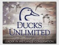 Ducks unlimited Metal tin sign hunting home shop bar man cave wall decor new