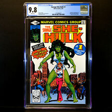 Savage SHE-HULK #1 🔥Origin & 1st Appearance of She-Hulk 🔥 CGC 9.8  WHITE Pages