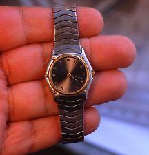 Swiss made quartz ladies watch EBEL Classic Wave ref.179901 working condition
