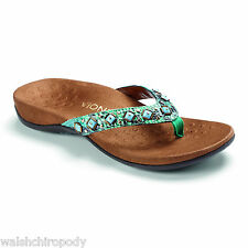 Vionic 340 Rest Floriana Grey Snake Womens Orthaheel Toepost Sandals UK 6