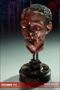 SIDESHOW THE DEAD SPECIMENS HATCHET HEAD 714M EDITION BUST 158/500  STATUE