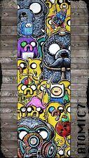 5x15 CONE HEAD, graffiti street pop wall art cat dog adventure time bemo frog 5