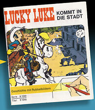 Lucky Luke ticket images 1971 Letraset KALKITOS Rub dowm Transferts Décalcomanies