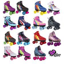 Rio Roller Candi Kids Quad Skates With Optional Extra SFR Pink Bag No Thanks 6