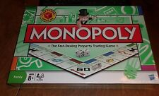 MONOPOLY Family Board Game with speed Die 2008 unopened HASBRO