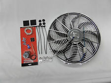 16 INCH CHROME S BLADE FAN  REVERSIBLE &TEMPERATURE CONTROL SWITCH CR#2055453C