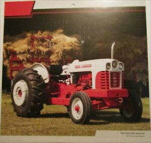 1957 Ford 1841 Industrial tractor print