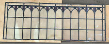 Victroian Lead Light Window Panels x 2, 1630 x 605mm