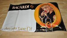 Bacardi O Orange Rum USA großes Vinyl Werbe-Banner Plakat Werbebanner Poster