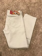 MEN'S LEVI'S 502 REGULAR TAPER FIT STRETCH JEANS MOONSTRUCK 36X32 MSRP$59.5  New