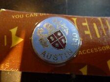 AUSTIN A40 Original 1960's Quality Gear Lever Badge Key Fob Bonnet NOS