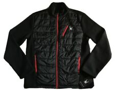 NWT! Men's Spyder Sweater Jacket With Quilted Front Sz M MSRP $169.99