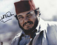 JOHN RHYS-DAVIES SIGNED 'INDIANA JONES' SALLAH 8x10 MOVIE PHOTO B w/COA ACTOR